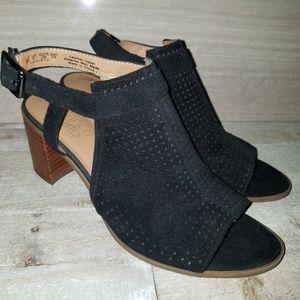 Franco Sarto black women's heel size 8M
